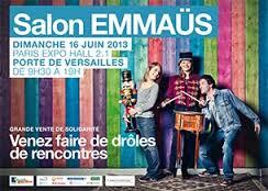 Salon EMMAUS 16 juin 2013